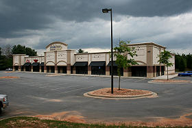 Commercial Retail Metal Building