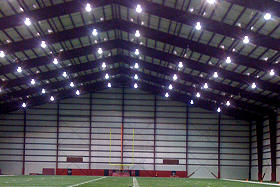Indoor Football Recreational Steel Building